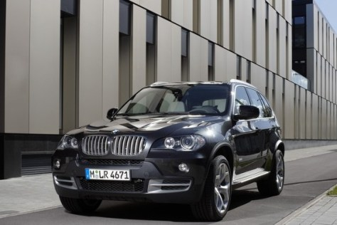 Image: BMW's sporty large crossover SUV