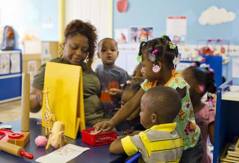 Image: Little Angels Day Care in Moorehead, Miss.