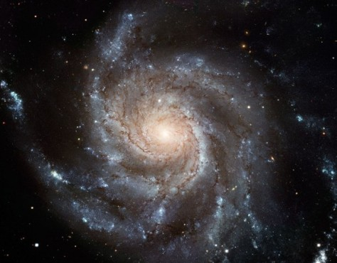Messier 101 galaxy spans 170,000 light-years