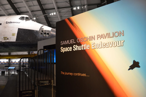 Image: Space shuttle Endeavour at the California Science Center