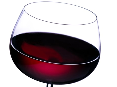 Image: Red wine in glass