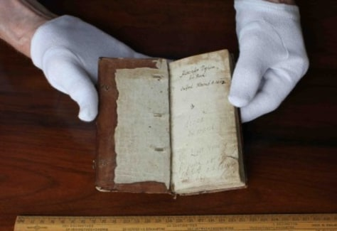 Image: 300-year old instructional manual