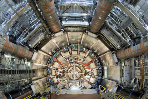 World's largest atom smasher now faster - Technology ...