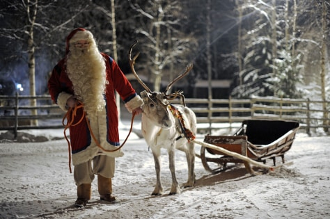 Image: FINLAND-CHRISTMAS-SANTA CLAUS