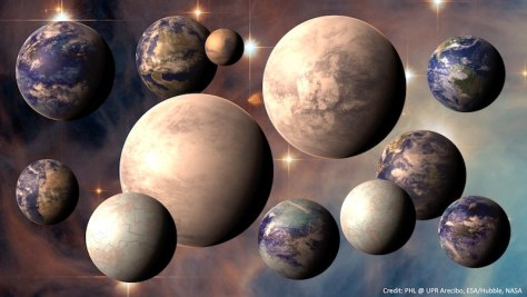 Image: Exoplanet lineup