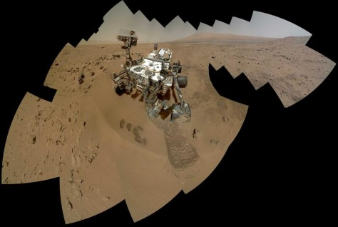 Image: Mars rover Curiosity self-portrait