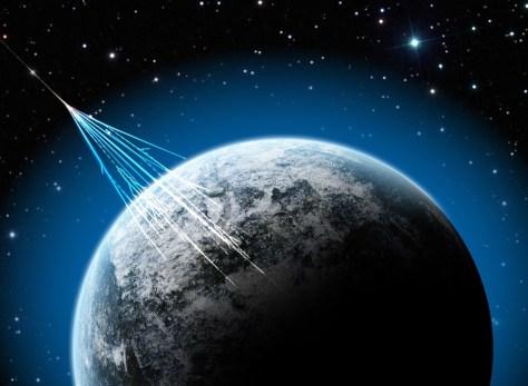 Image: Cosmic rays