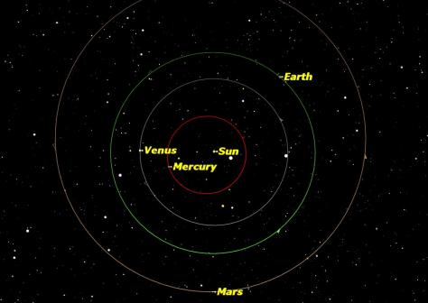 closest planet to venus - photo #26