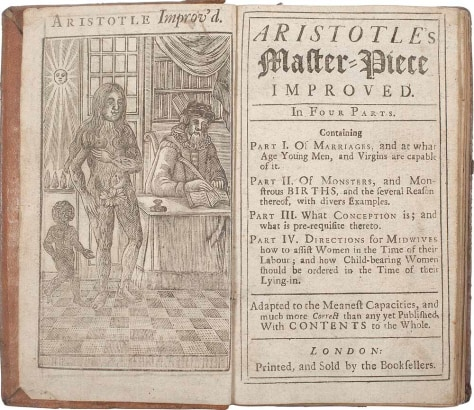 "Image: ""Aristotle's Compleat Master-Piece"""