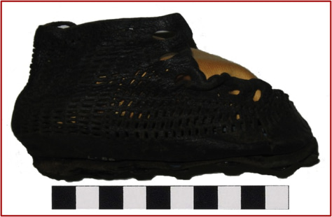 Image: Roman infant child's sandal