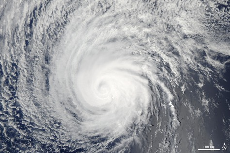 Image: Hurricane Felicia seen by satellite Aug. 8, 2009