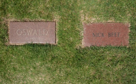 Image: Lee Harvey Oswald grave