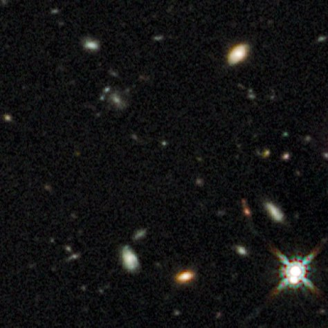 Image: Early galaxies