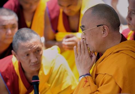 Image: The Daiai Lama