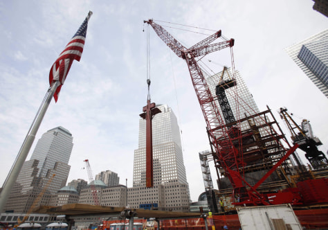 Image: Construction at WTC site