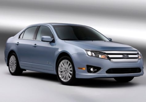 Image: 2010 Ford Fusion Hybrid