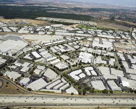 Image: Warehouse complex in southern California