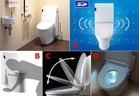 Strange Sitting Down The Worlds Most Extreme Toilets Technology Evergreenethics Interior Chair Design Evergreenethicsorg
