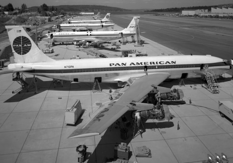 Image: Boeing 707-120 issued to Pan Am