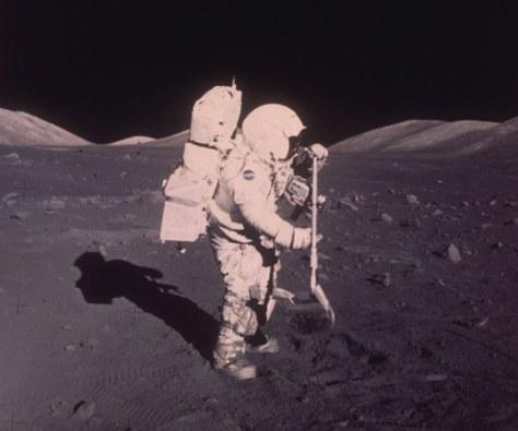 Image: Astronaut Harrison H. Schmitt