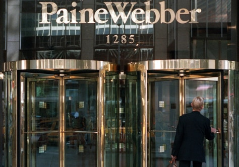 Image: former PaineWebber building in New York City