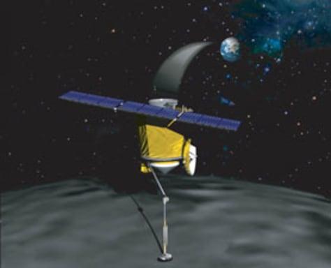 Image: Asteroid sampler