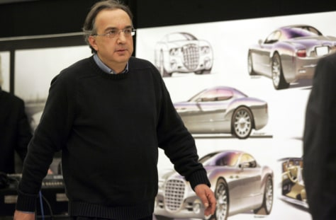 Image: Chrysler Group CEO Sergio Marchionne