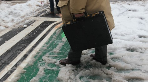 Image: Northeast Snow Storm Slams New York City