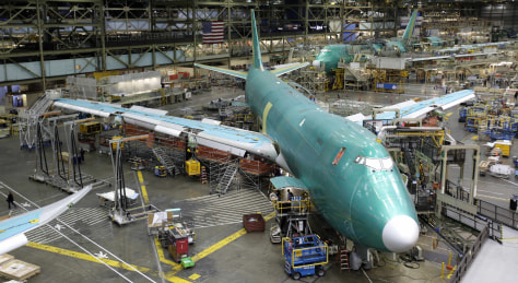 Image: Boeing plant in Everett, Wash.