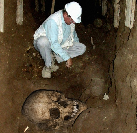 Image: Archeological dig