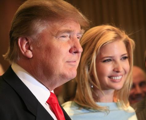 Image: Donald Trump, Ivanka Trump