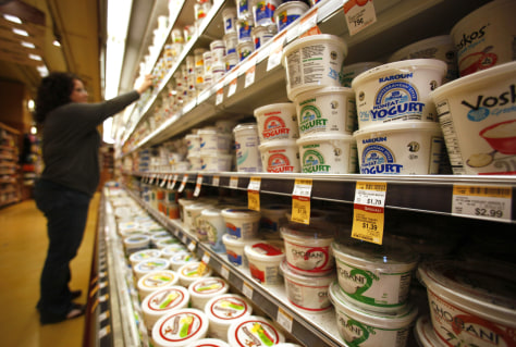 Image: Whole Foods yogurt selection