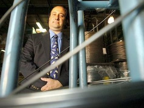 Image: Drew Greenblatt, President of Marlin Steel Wire Product