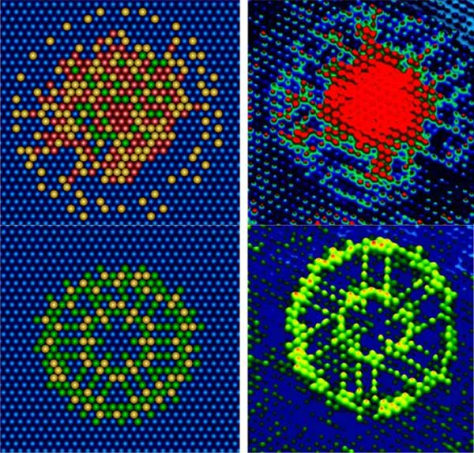 Image: Images from molecular computer