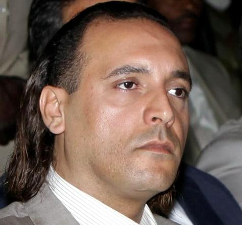 Image: Hannibal Moammar Gadhafi