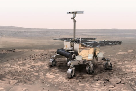 ExoMars rover concept