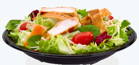 Image: McDonald's Premium Caesar Salad with Grilled Chicken