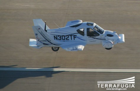 Image: Flying car