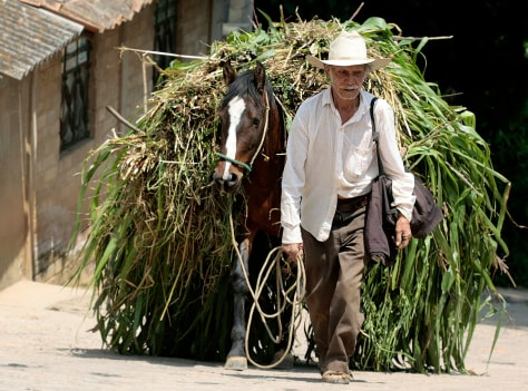 Image: Farmer in Mexico