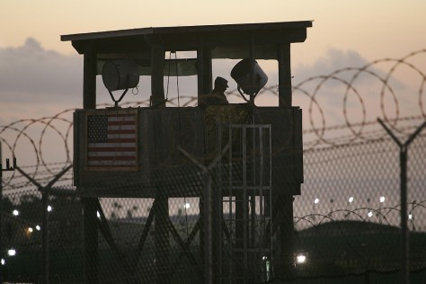 Image: Guantanamo Bay guard tower