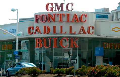 Image: GM dealership