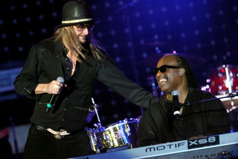 Image: Kid Rock, Stevie Wonder