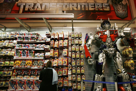 Image: Transformers display