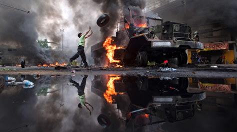 Image: Violence in Bangkok
