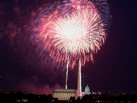 Image: Washington fireworks