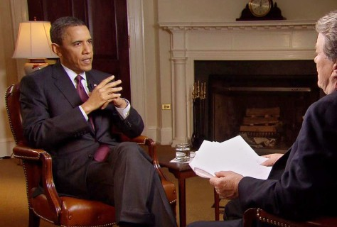 Image: Barack Obama, Steve Kroft