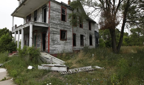Image: Vacant home in Detroit