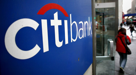 Image: Citibank branch in New York