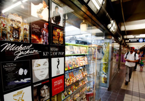 Image: Michael Jackson record store