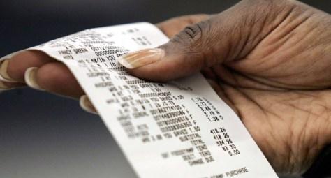 Image: Paper receipt